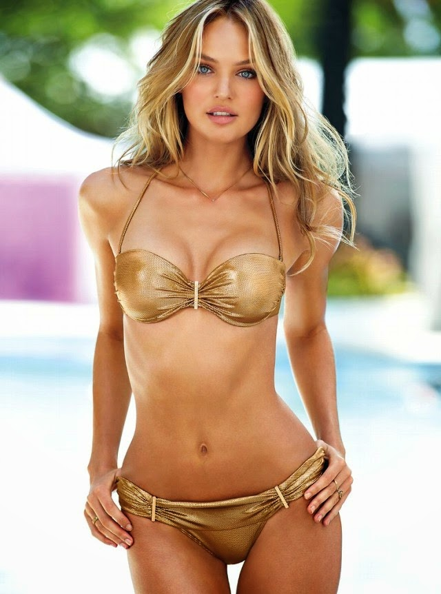 Hot Model Girl - Candice Swanepoel Bikini Body