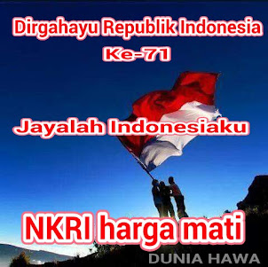 • • • DIRGAHAYU INDONESIA KU