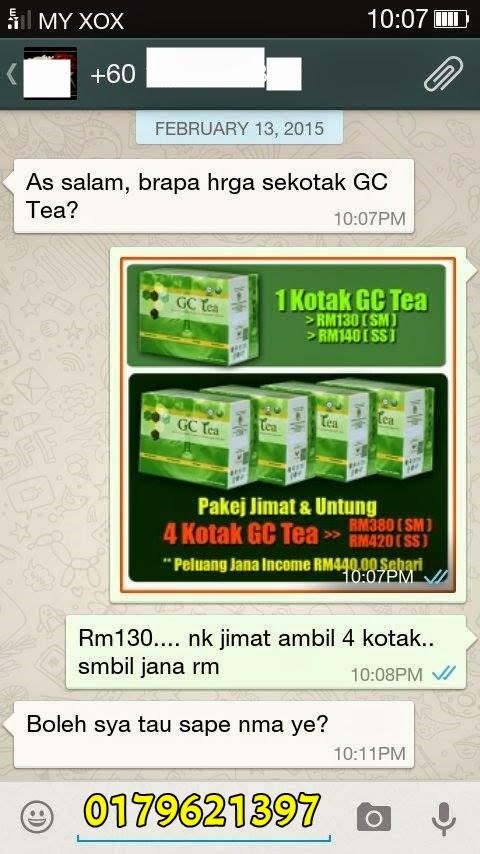 Rakan niaga GC Tea