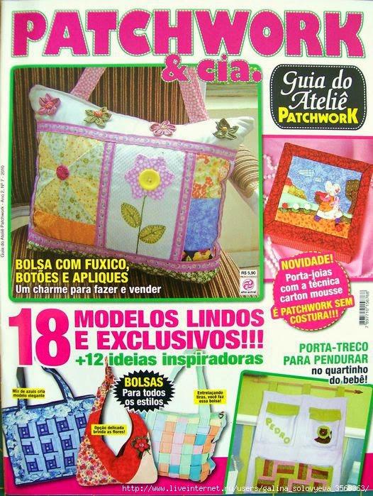 Como hacer carteras con patchwork revistas de - Como hacer pachwork ...