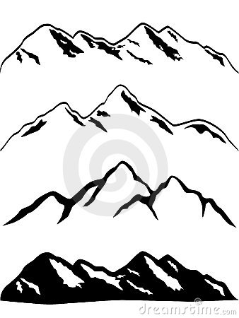 Mountains Cartoon Pictures