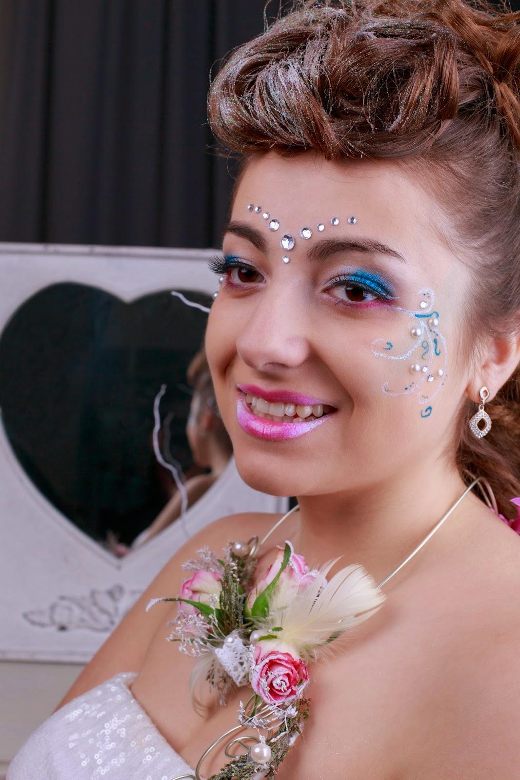 [180.] Sesja ślubna z makijażem fantazyjnym.