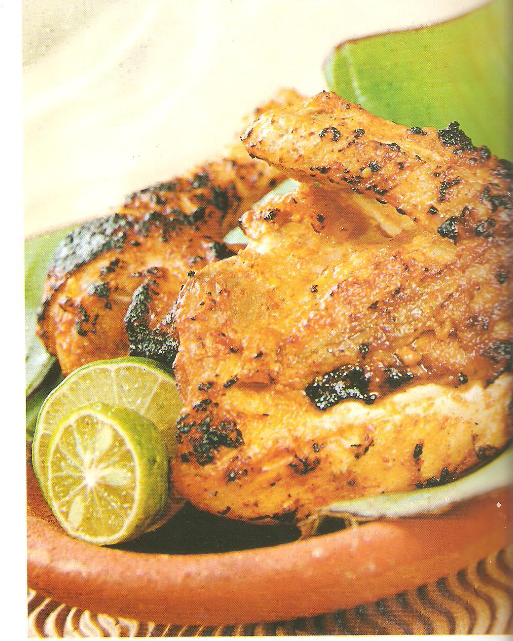 resep masakan ayam bakar padang