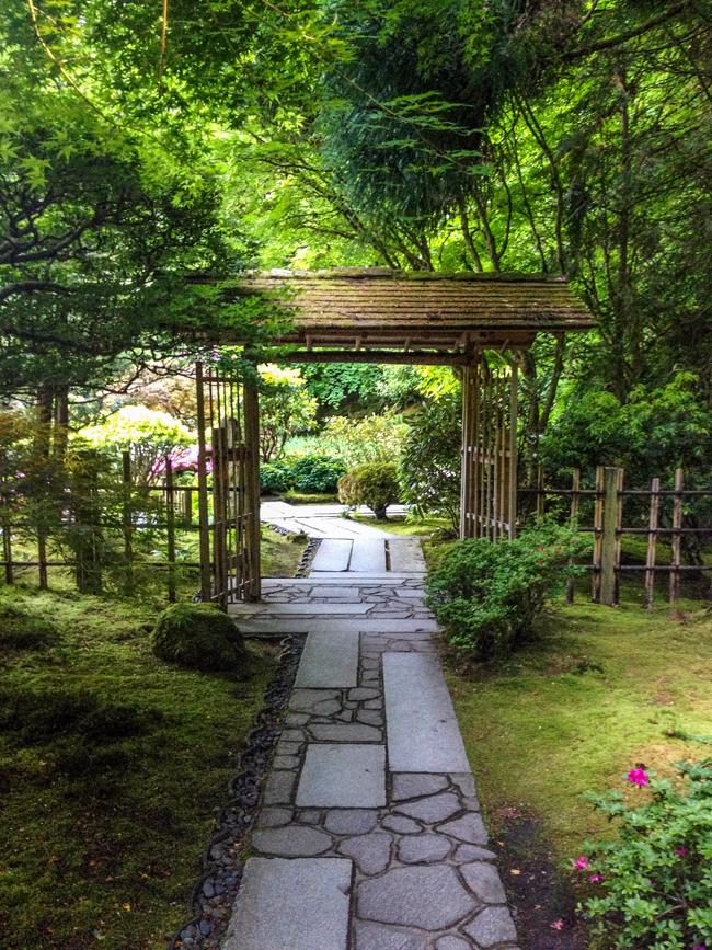 Amanda k by the bay portland japanese gardens - Japanese garden gates ideas ...