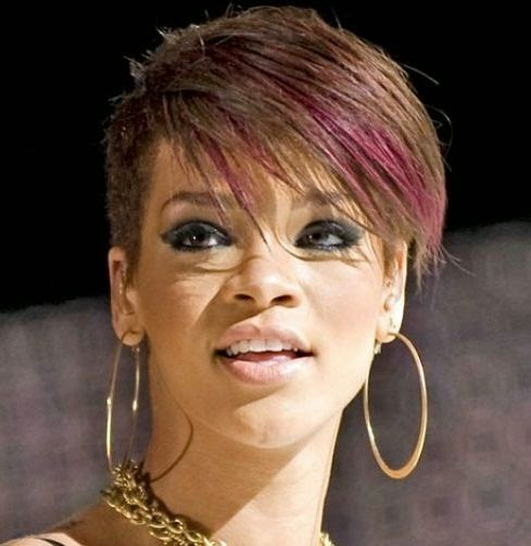 pin undercut frisuren rihanna genuardis portal on pinterest. Black Bedroom Furniture Sets. Home Design Ideas