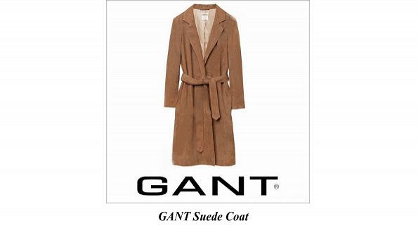 Princess Sofia GANT Suede Coat