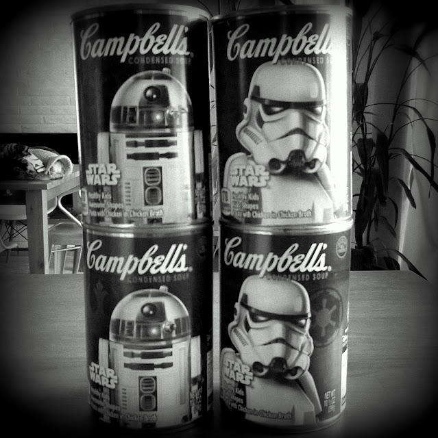 Star Wars Campbell's soup