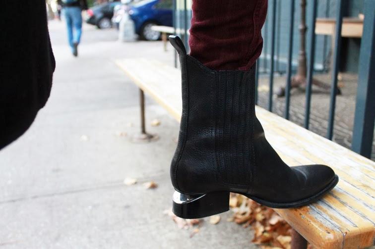 Alexander Wang Anouck boots nickel hardware