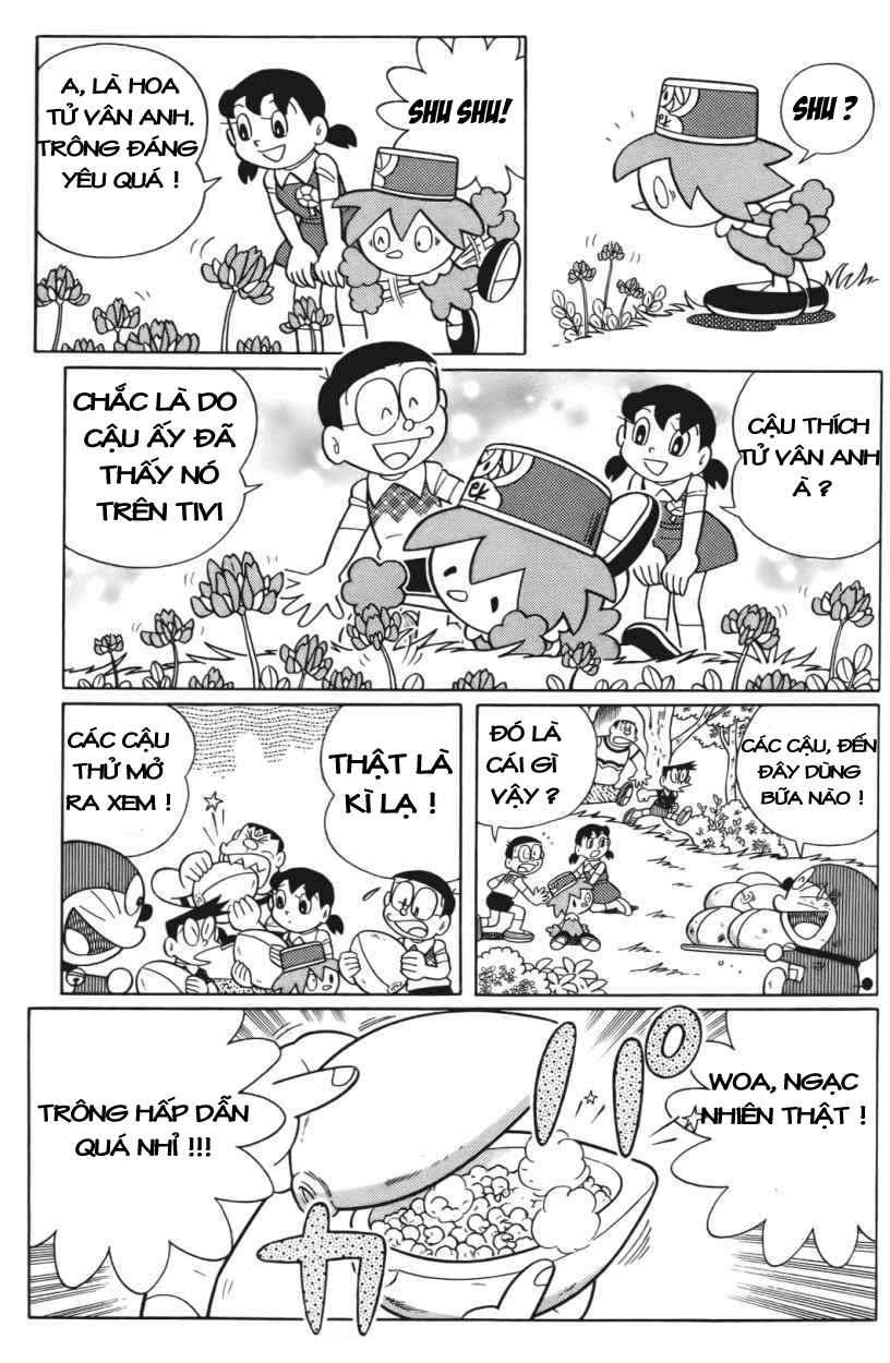 Truyện tranh Doraemon Dài Tập 25 - Nobita và truyền thuyết thần rừng trang 34
