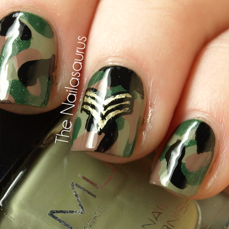 Military nails | Camouflage Nail Art | Pinterest | Military nails and Camouflage  nails - Military Nails Camouflage Nail Art Pinterest Military Nails