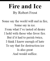 robert frost and nature