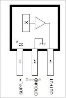 Hall Effect Sensor Type UGN3503U