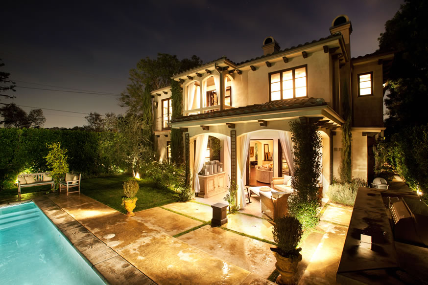 Back View of the Dream House