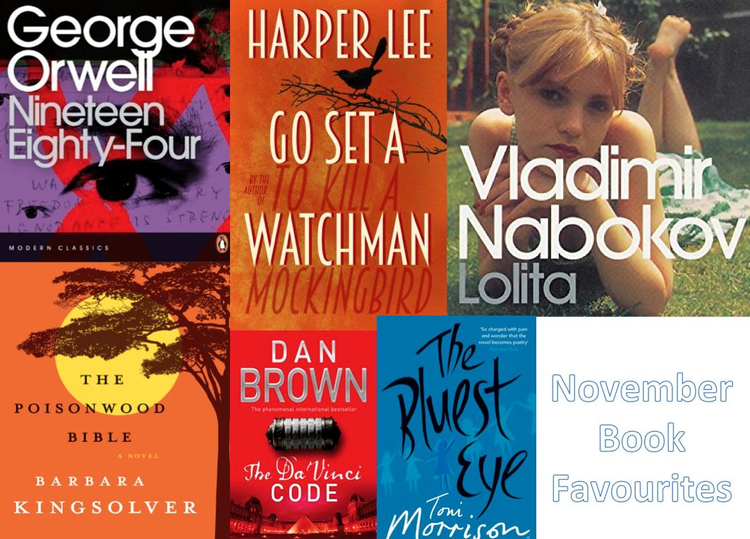 November Book Favourites