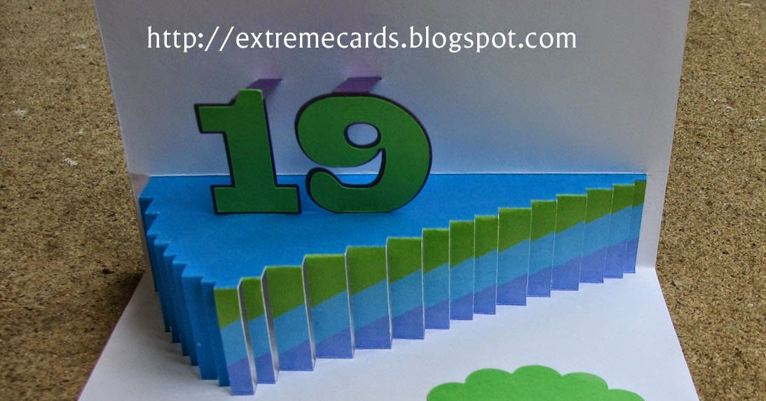 Extreme Cards And Papercrafting Cake Slice Pop Up Card