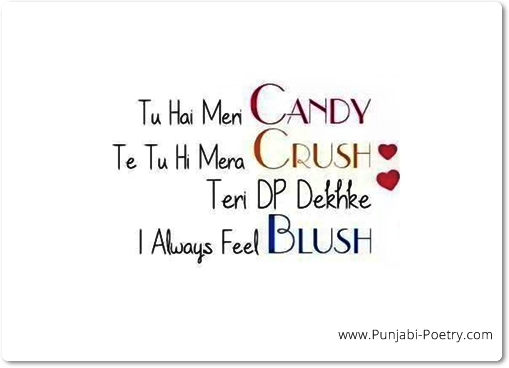 Candy Crush Punjabi Love Message
