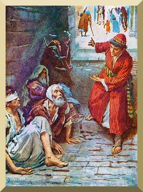 Luke 14: 12 - 14