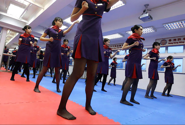 4451527434dbfafb5959e7 Ketika pramugari harus belajar kungfu wingchun!