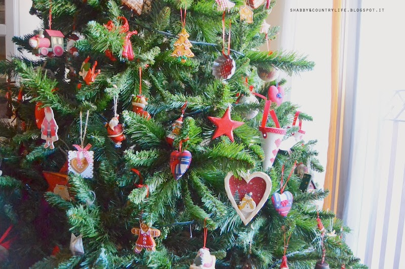 My home at Christmas, the Tree 2013- shabby&countrylife.blogspot.it