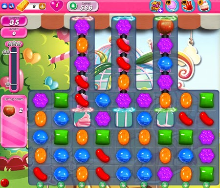 Candy Crush Saga 586