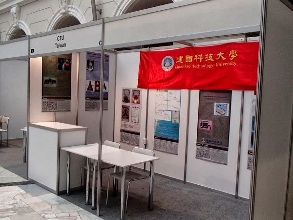 7. Międzynarodowa Warszawska Wystawa Wynalazków - stoisko z Tajwanu