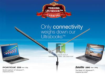 Toshiba Ultrabook Carnival