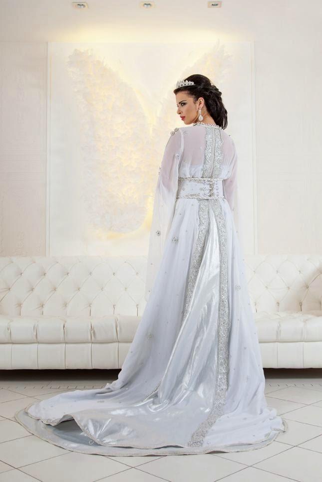 caftan blanc mariage 2015 robes mari es de luxe caftan