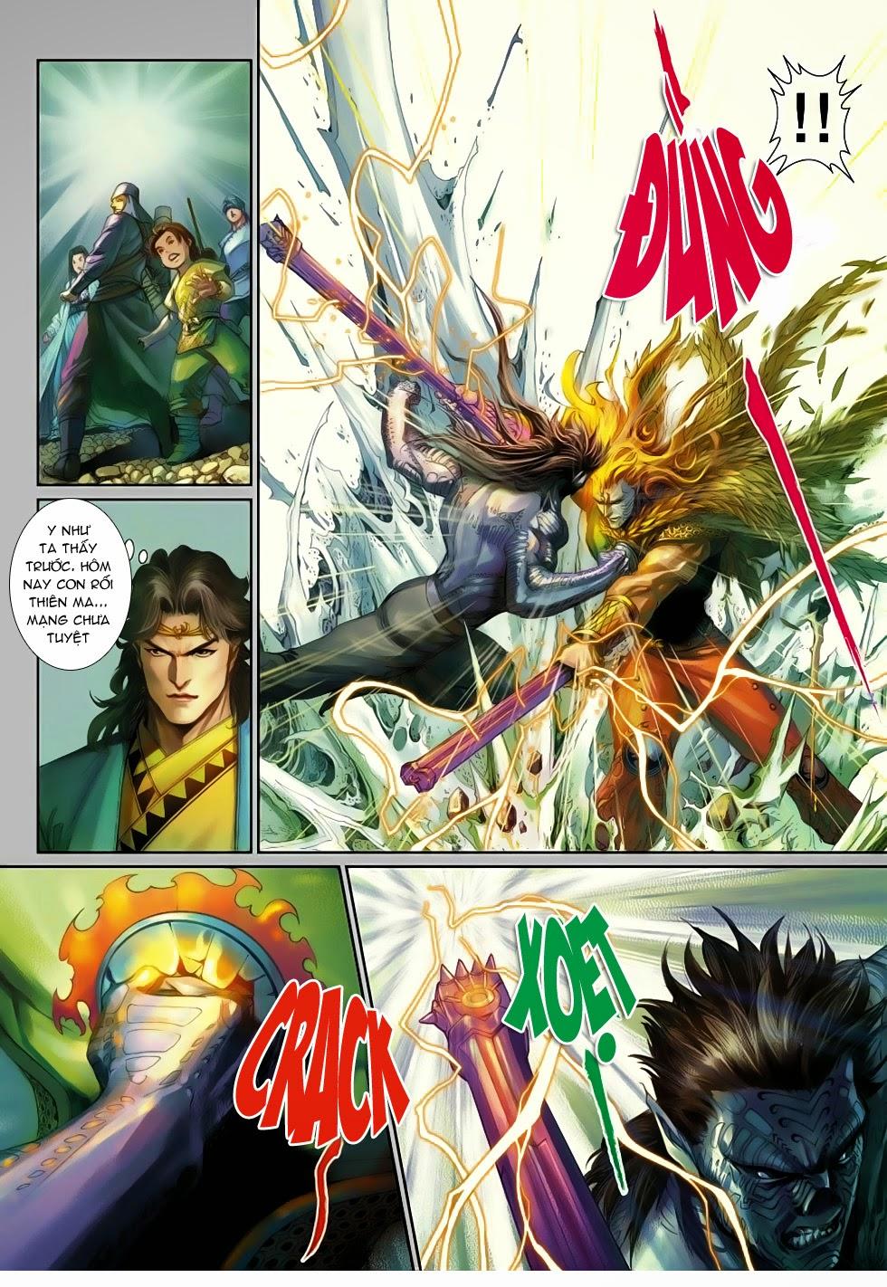 Thần Binh Tiền Truyện 4 - Huyền Thiên Tà Đế chap 13 - Trang 20