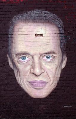 Steve Buscemi graffiti