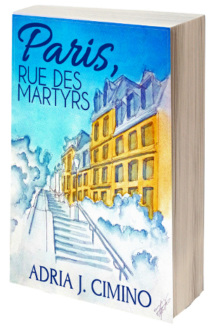 Paris, Rue des Martyrs, by Adria J. Cimino