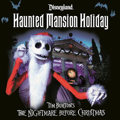 Haunted Mansion Holiday Disneyland soundtrack iTunes Skellington