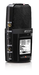 Rejestrator Zoom H2n. Zdjęcie producenta.