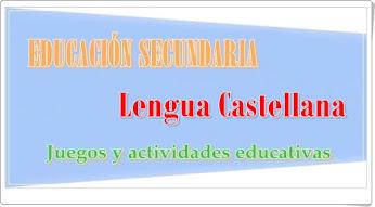 Lengua Castellana de Secundaria