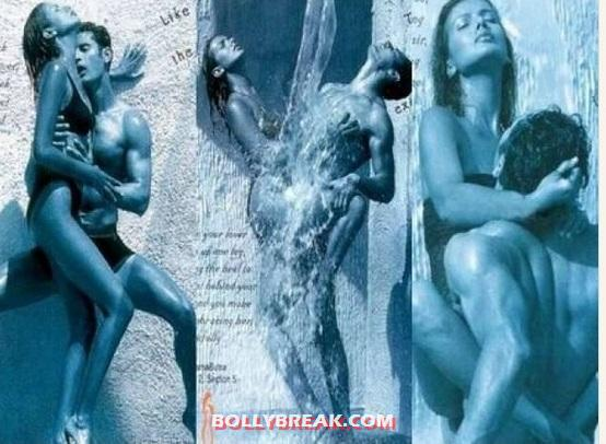 kamasutra condoms - (2) - Bollywood actresses who dared to pose with naked men