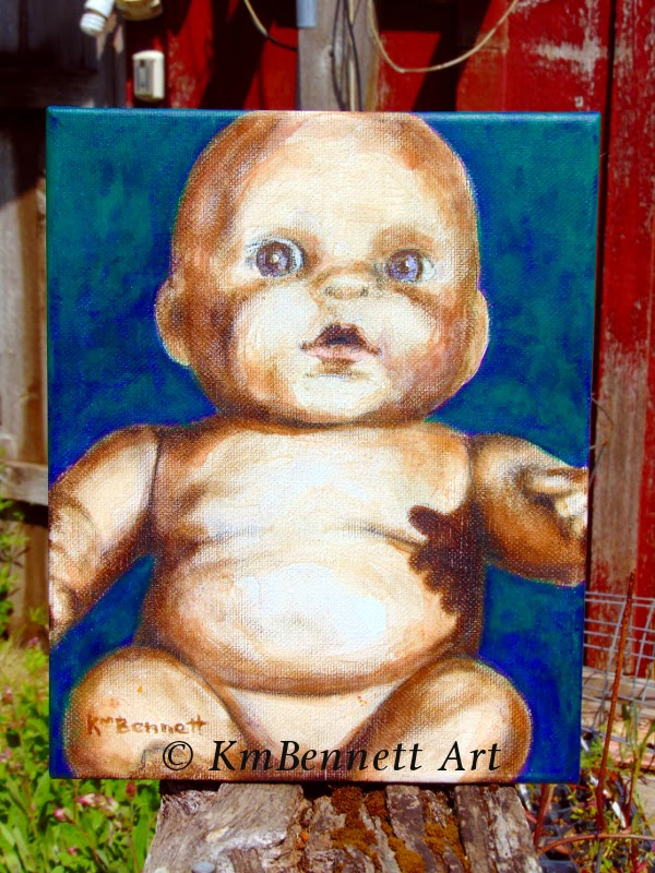 Painting: Baby Doll 02