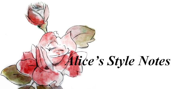 Alice's Style Notes