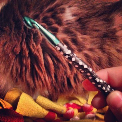 Washi Tape Crochet Hook