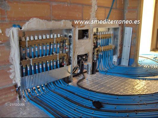 Electricistas electricidad madrid 680 546 431 for Suelo radiante por agua