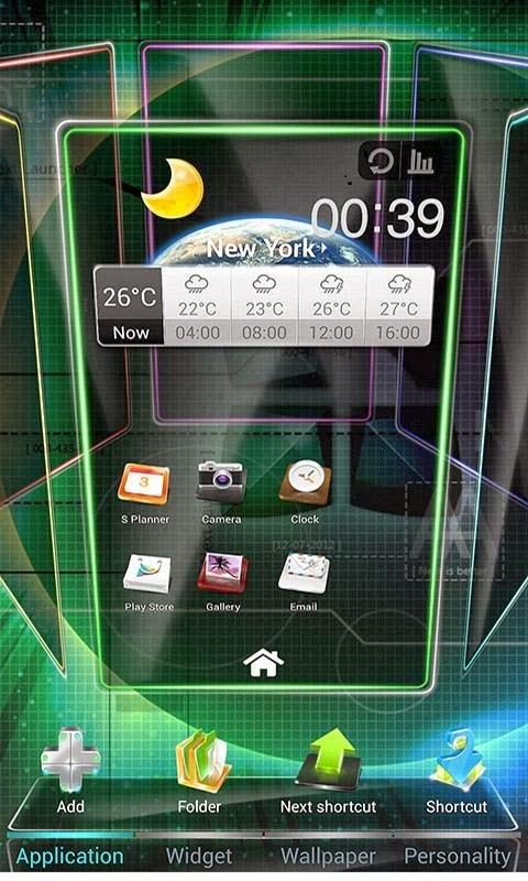 Next Launcher 3D APK 2.07 Patched Premium App Download