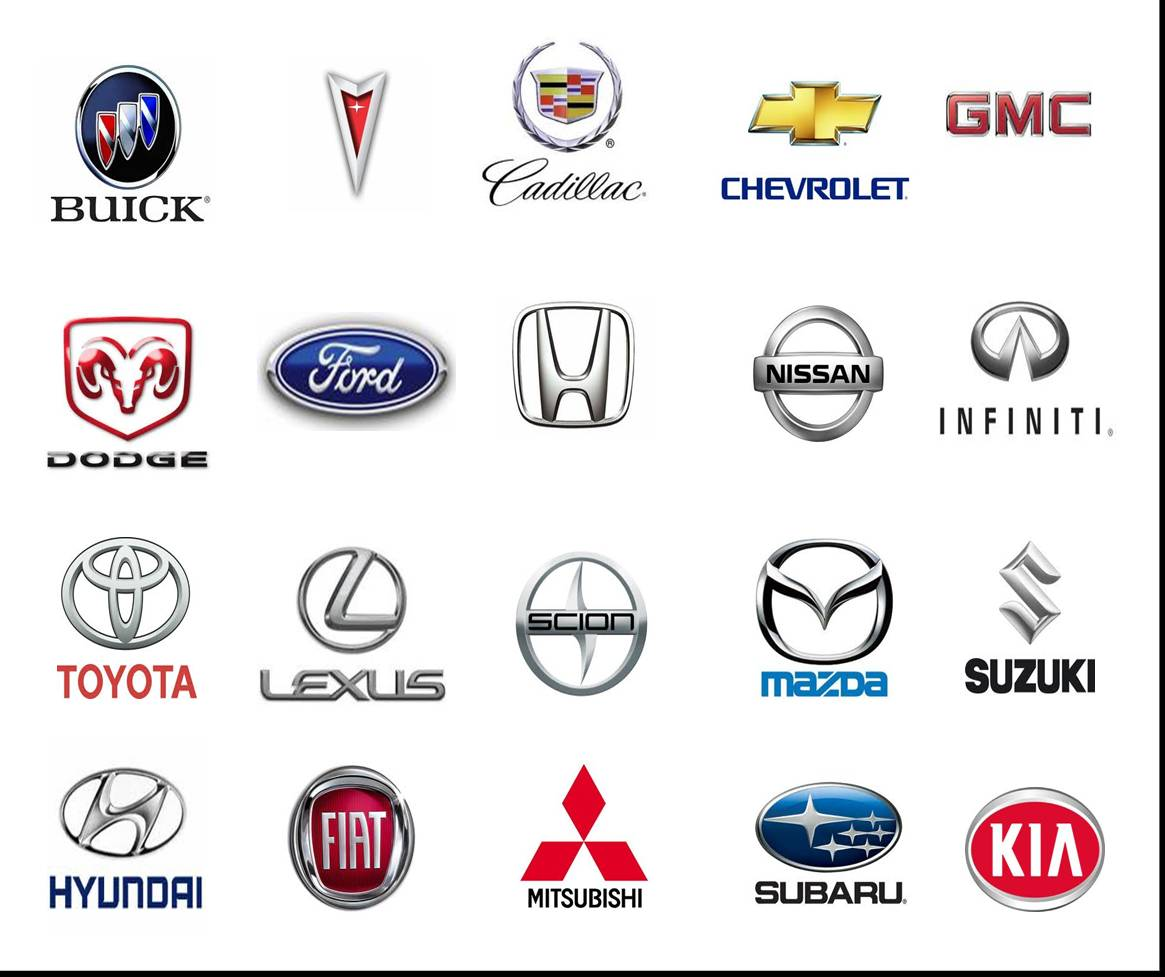 Car Logos With Names Cars Show Logos