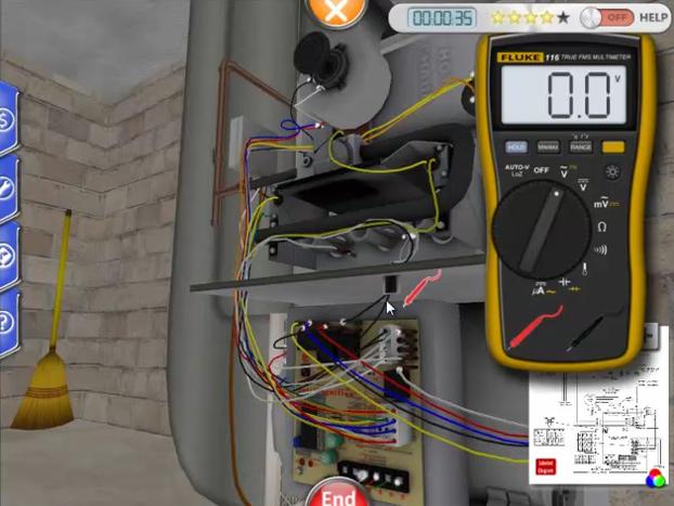 Online Interactive 3D HVAC Training Simulator - ForgeFX Training ...