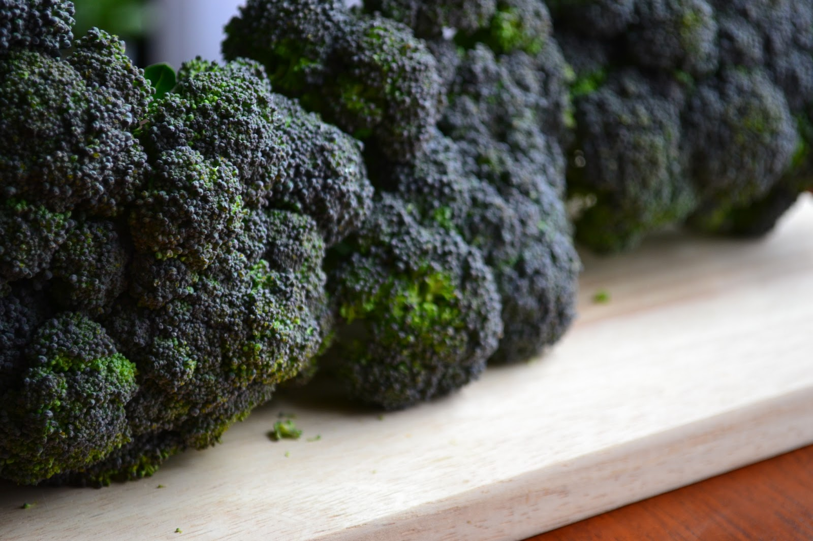 Nourish The Roots: Double Broccoli Quinoa