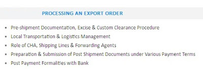 export import quotes pictures processing an export order