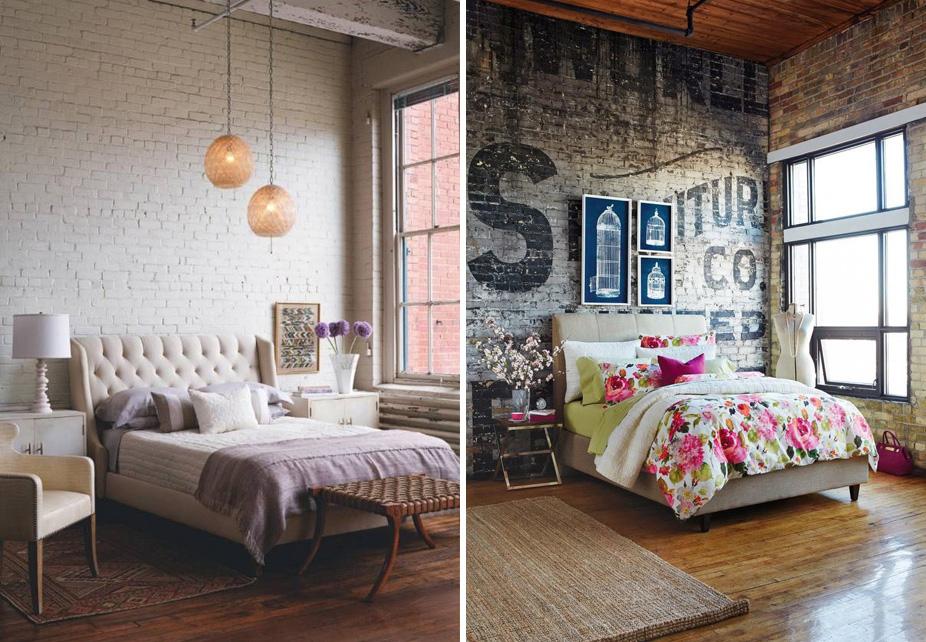 Una parete di mattoni - Shabby Chic Interiors