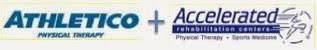 Athletico + Accelerated logos