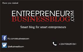 Entrepreneur Business Blog