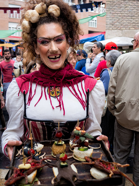 Mercado medieval Zaragoza 2015 (& Street Photo)