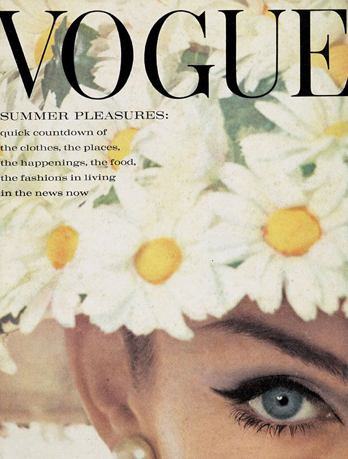 Jean Shrimpton by David Bailey in Vogue UK June 1962