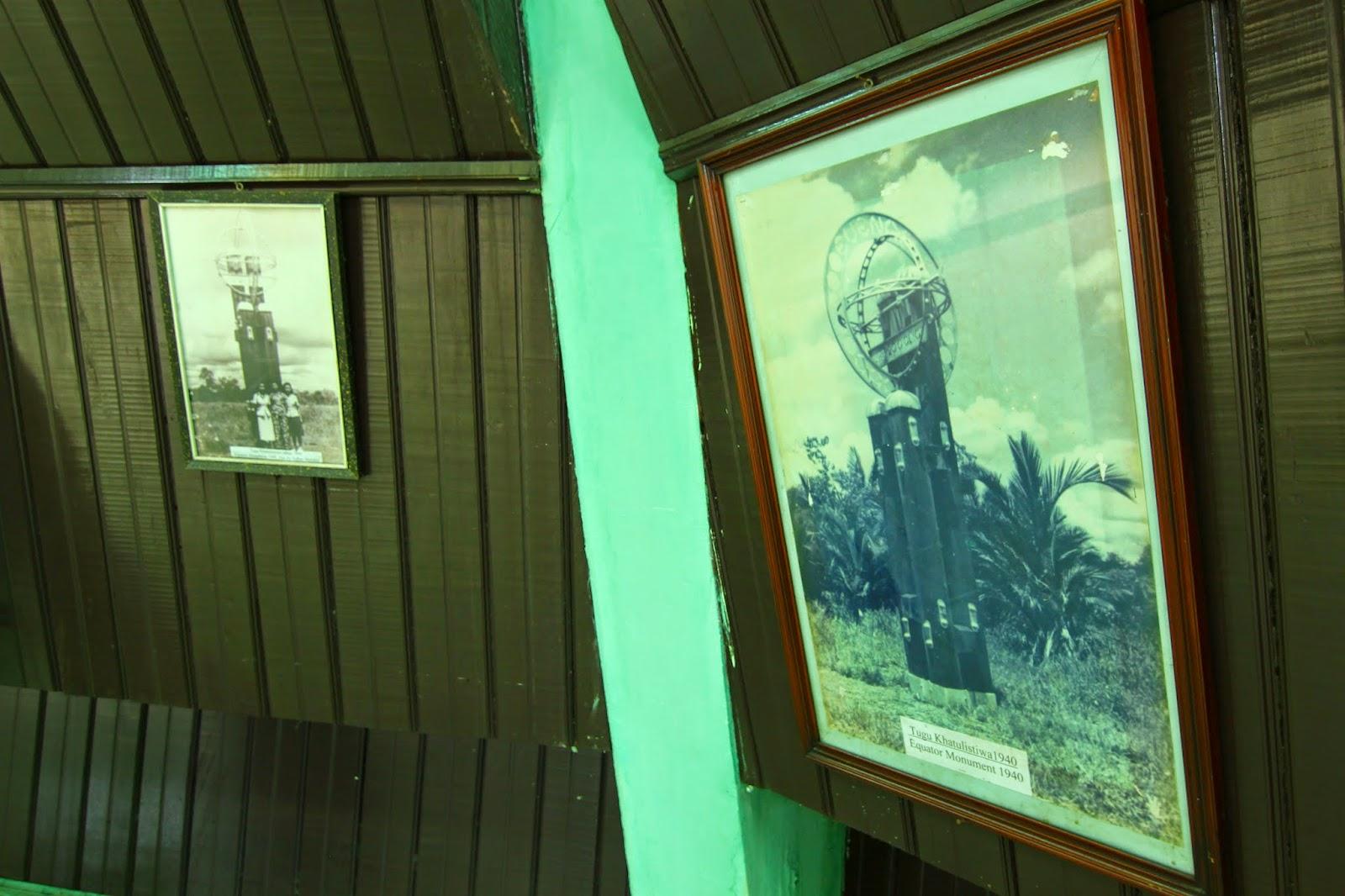 Galeri yang terdapat dalam Tugu Khatulistiwa, Pontianak