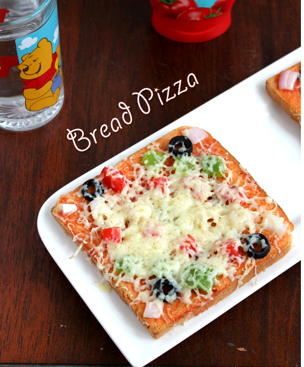 how to make pizza bread at home in hindi